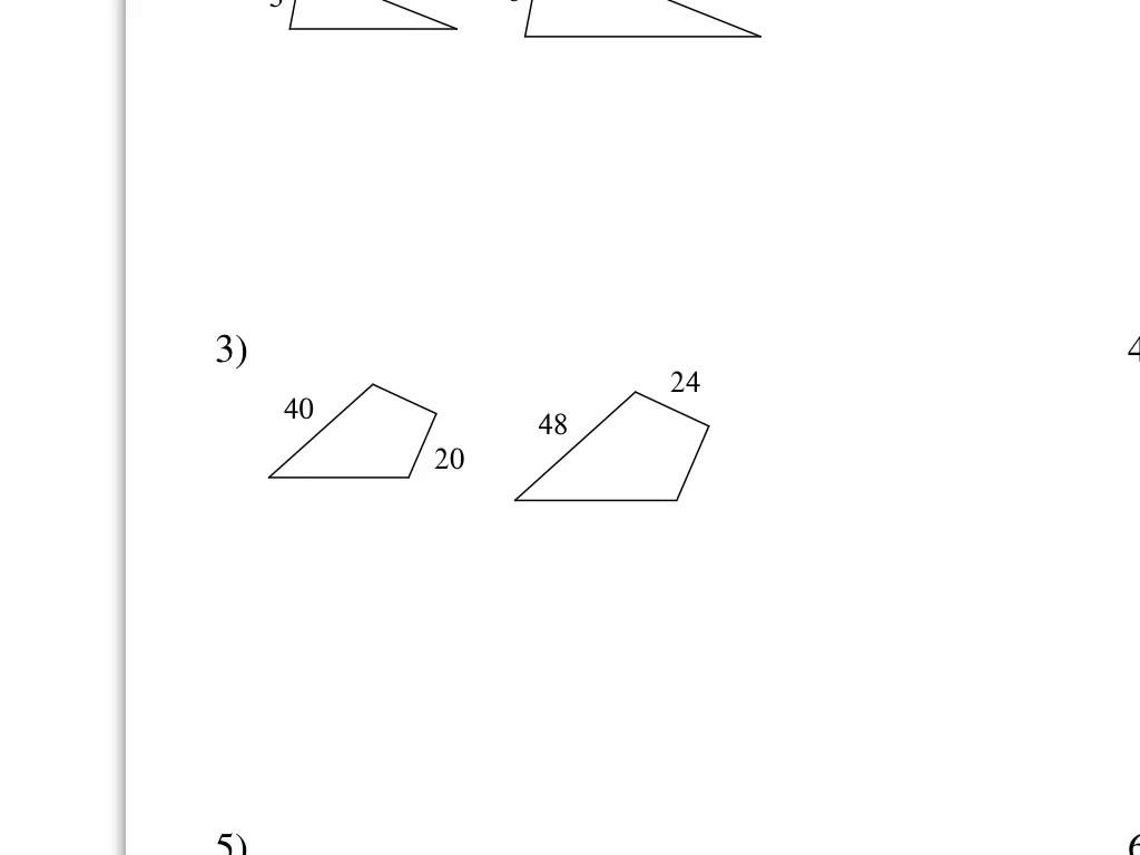 7th Grade Scale Factor Worksheets Worksheets For All