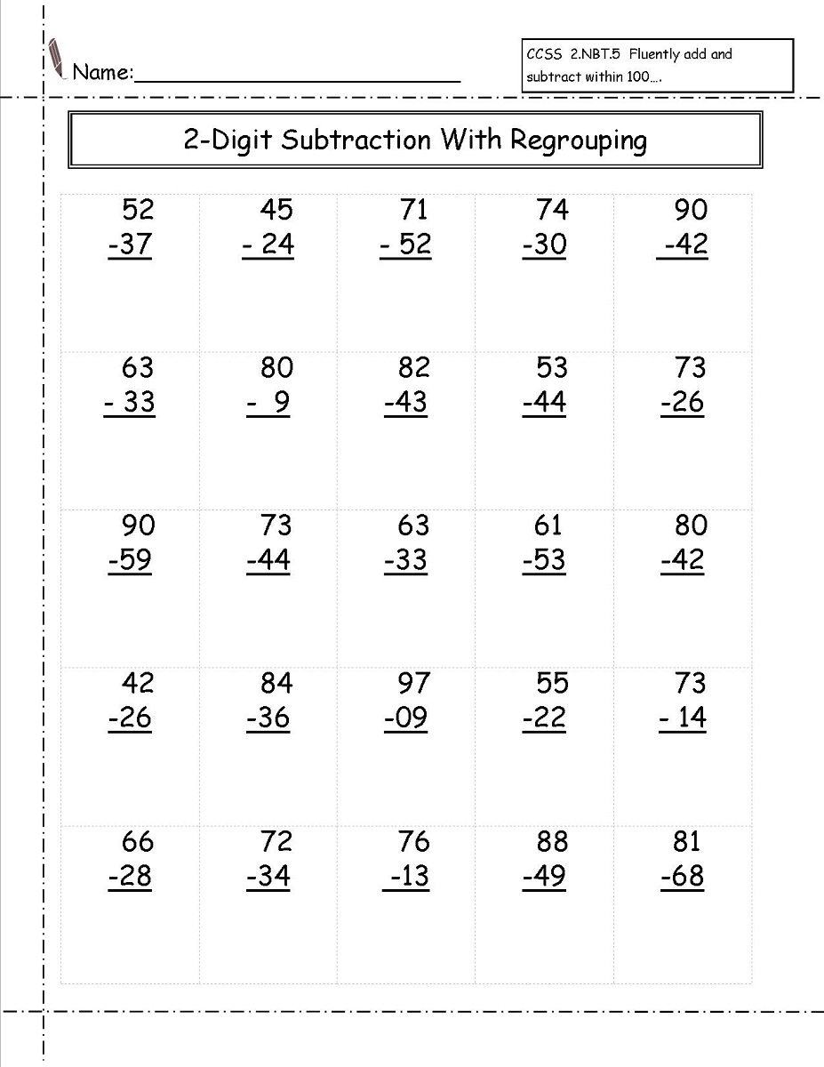 Addition Drill Worksheets Worksheets For All