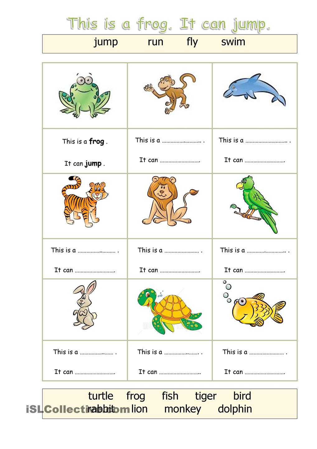 movement of animals worksheets. Black Bedroom Furniture Sets. Home Design Ideas