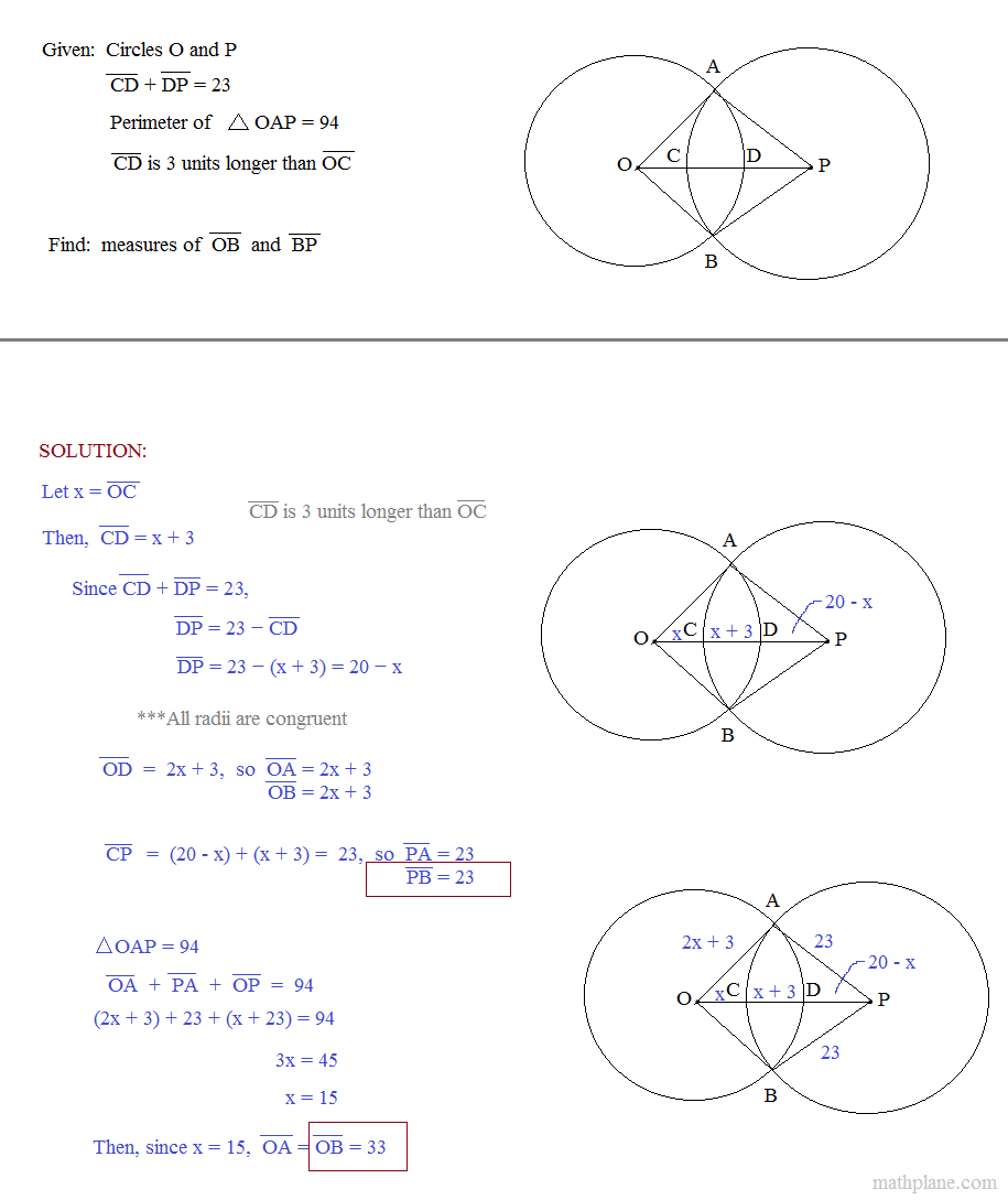 Circle Geometry Worksheets Worksheets For All