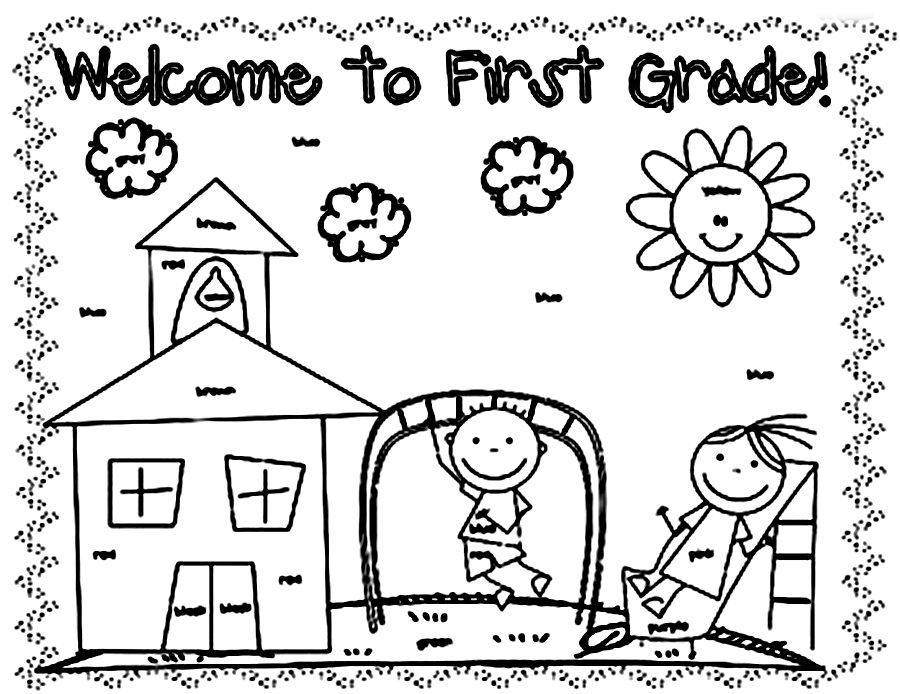 Coloring Worksheets For Grade 1