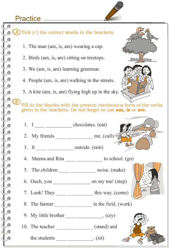 Present Continuous Tense Worksheets. Present Continuous Tense Worksheets For Grade 4 Rh Unmisravle. Worksheet. Worksheet On Verb Tenses For Grade 5 At Clickcart.co