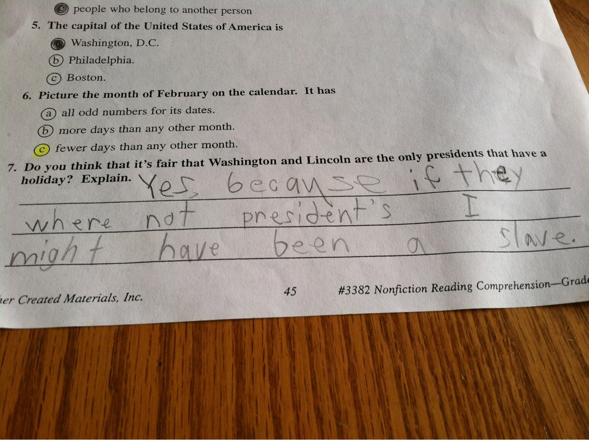 Found My Brothers Old Worksheet For School  We're A White Family