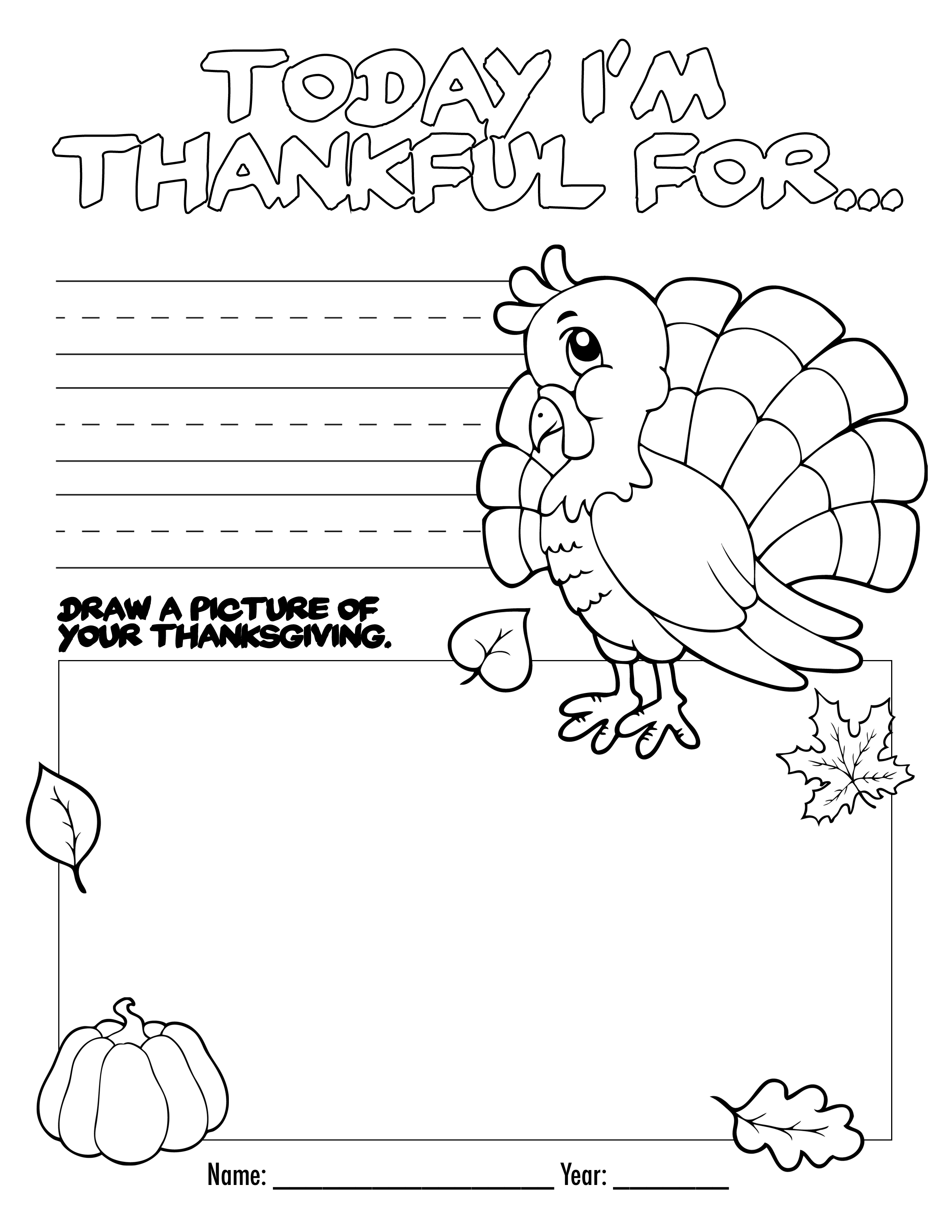 Free Printable Thanksgiving Math Worksheets