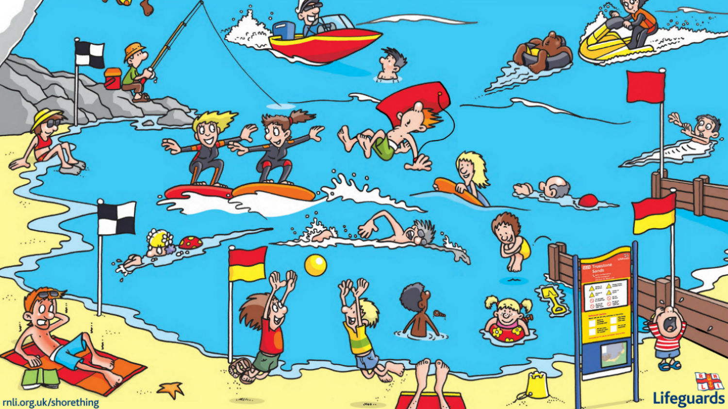 Free Rnli Activity Sheets, Posters And Colouring Sheets For Pupils