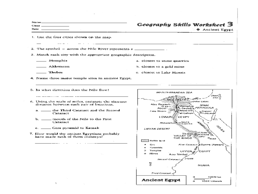 Geography Of Greece Worksheet Worksheets For All