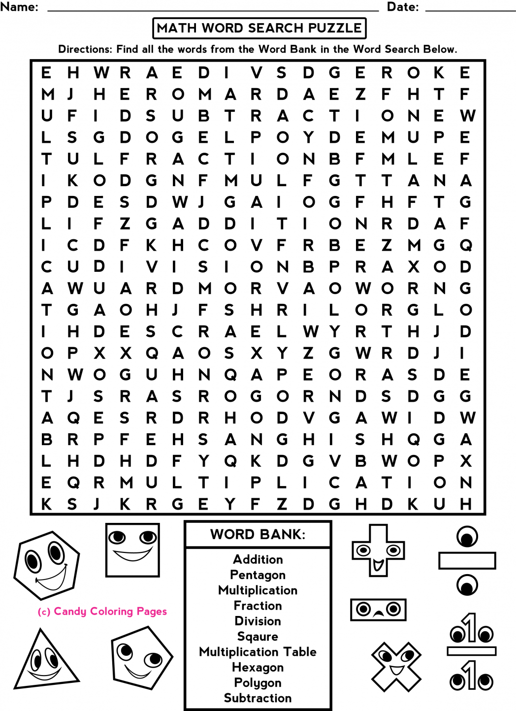 Halloween Worksheets Middle School Worksheets For All
