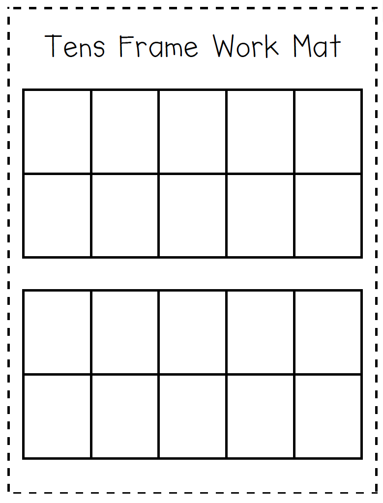 Help Your Students Organize Their Manipulatives Or Drawings Into