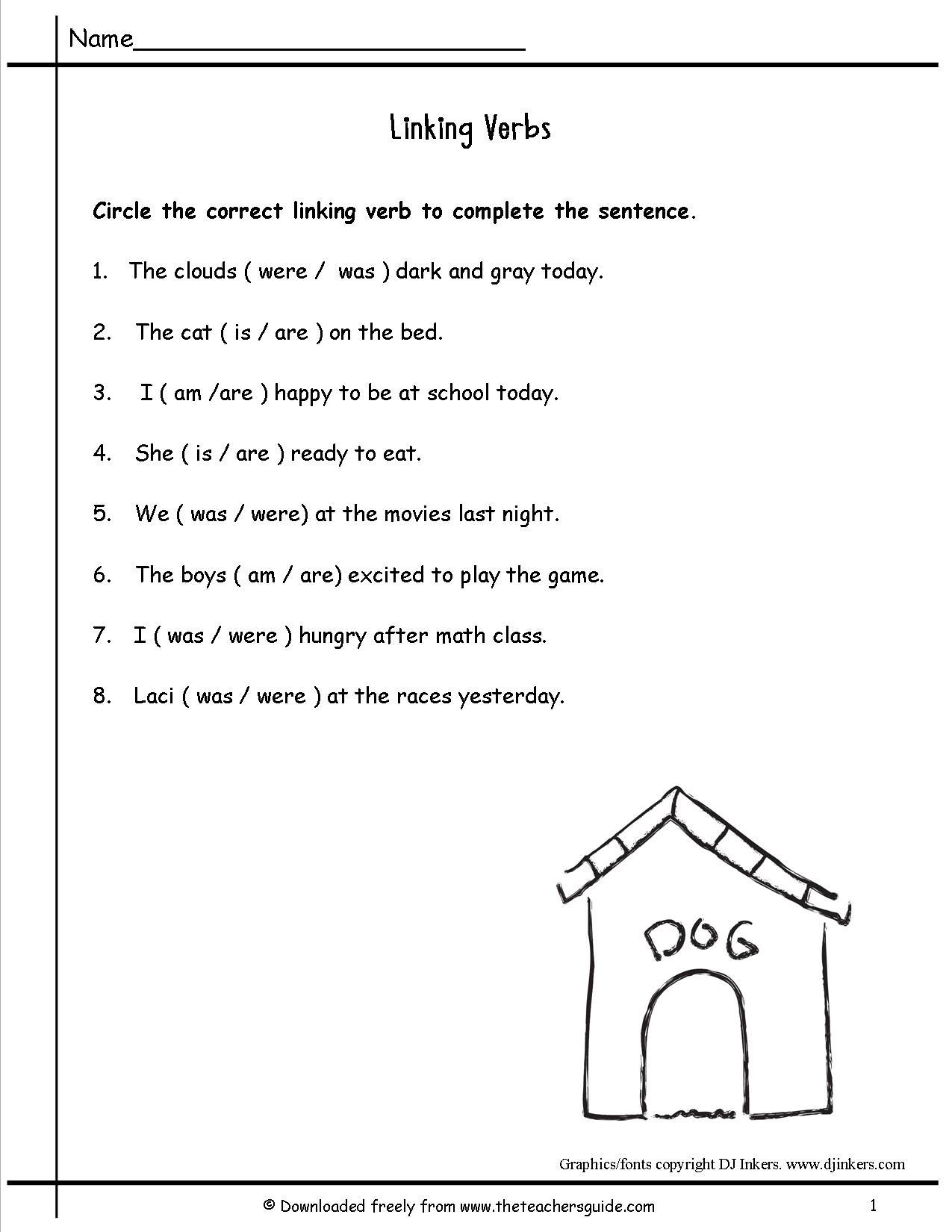 Kids  2nd Grade School Work 2nd Grade Back To School Worksheets