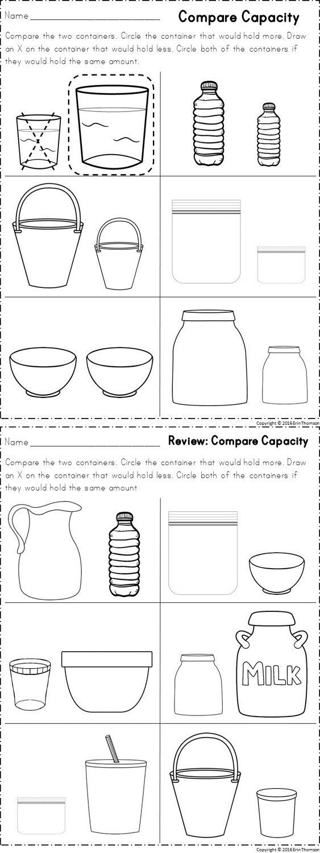 Kindergarten Math ~ Measurement