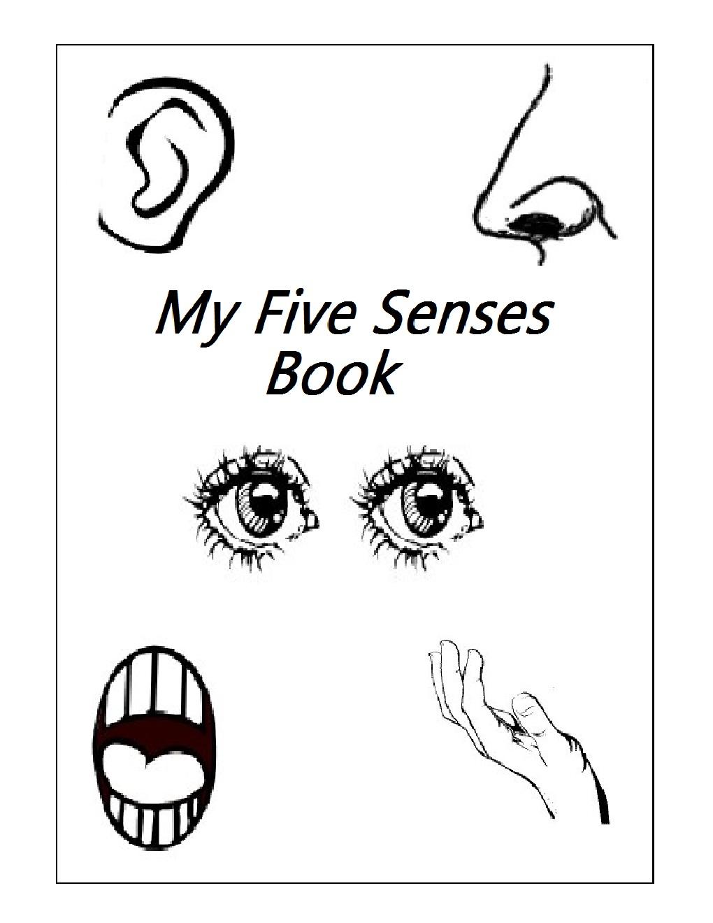 Free Printable 5 Senses Worksheets Kindergarten