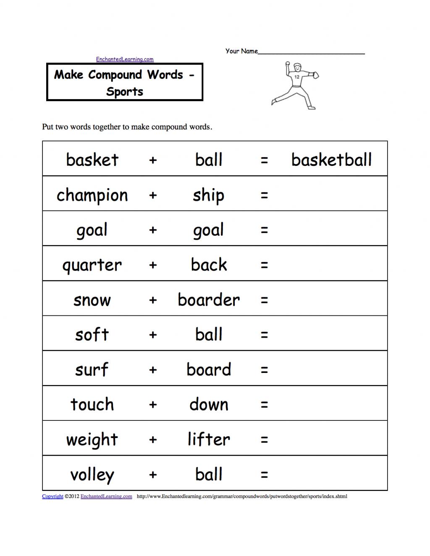 Math Vocabulary Worksheets Grade 6th Multiplication 5th