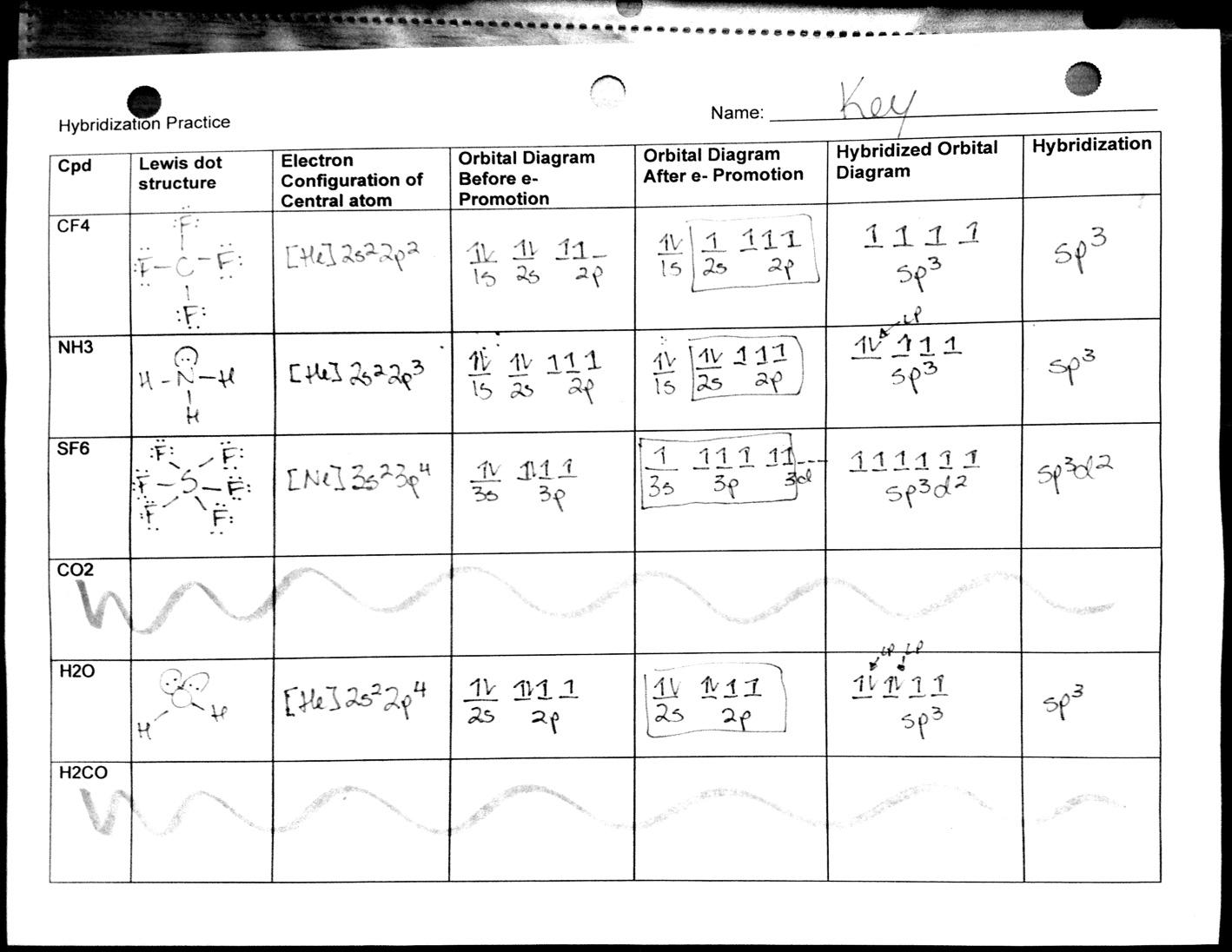 Molecular Geometry Worksheet Answers Free Worksheets Library