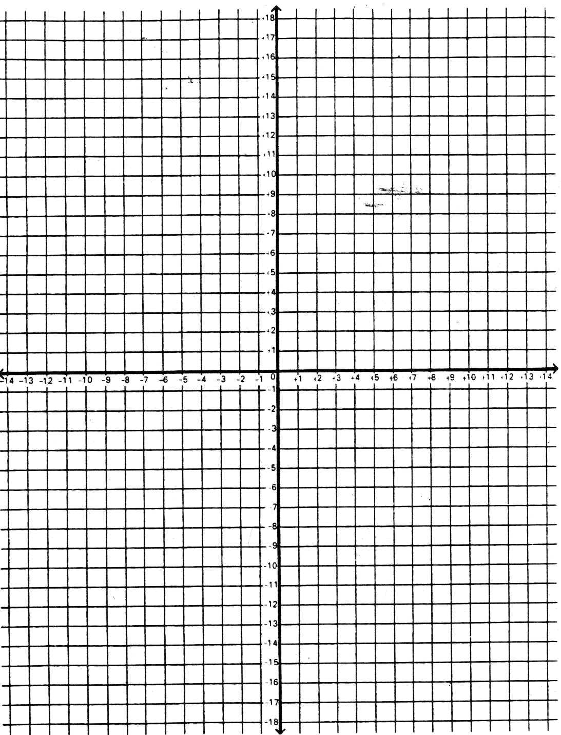Numbered Coordinate Graph Paper Worksheets For All