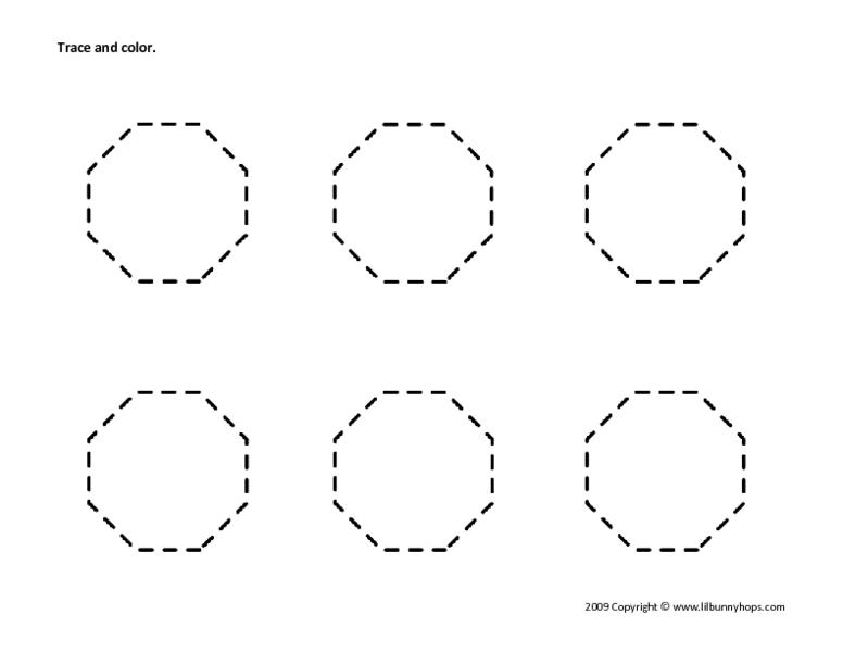 Octagon Worksheet