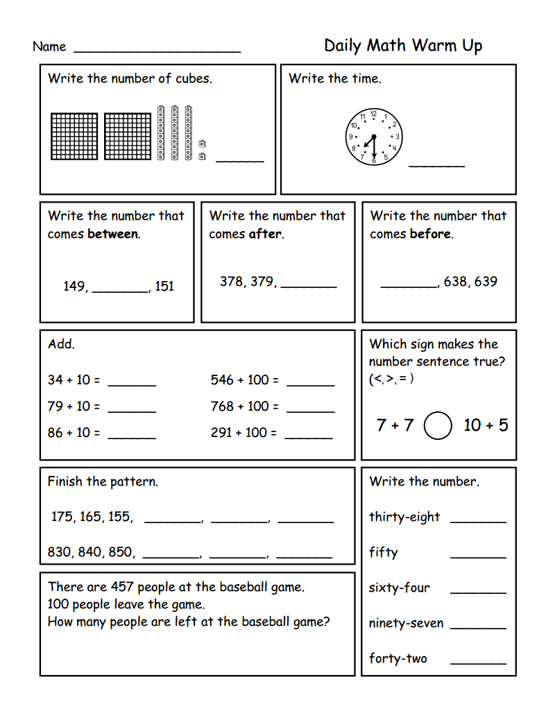 Place Value To 1 000 Pdf