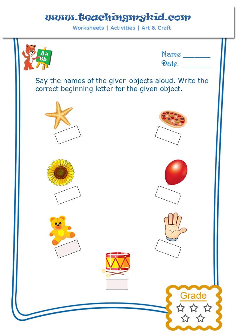 Printable Free English Worksheet