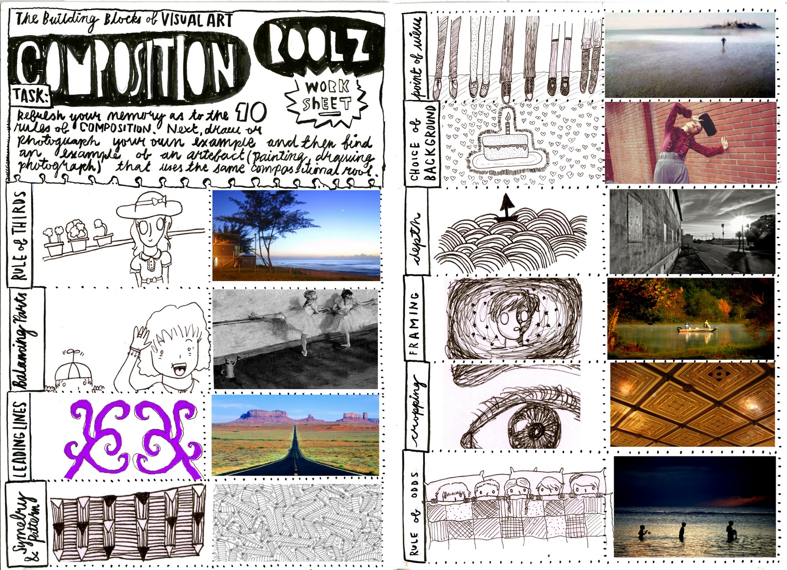 Stacey Muir Graphics Unit 1  Composition Worksheet