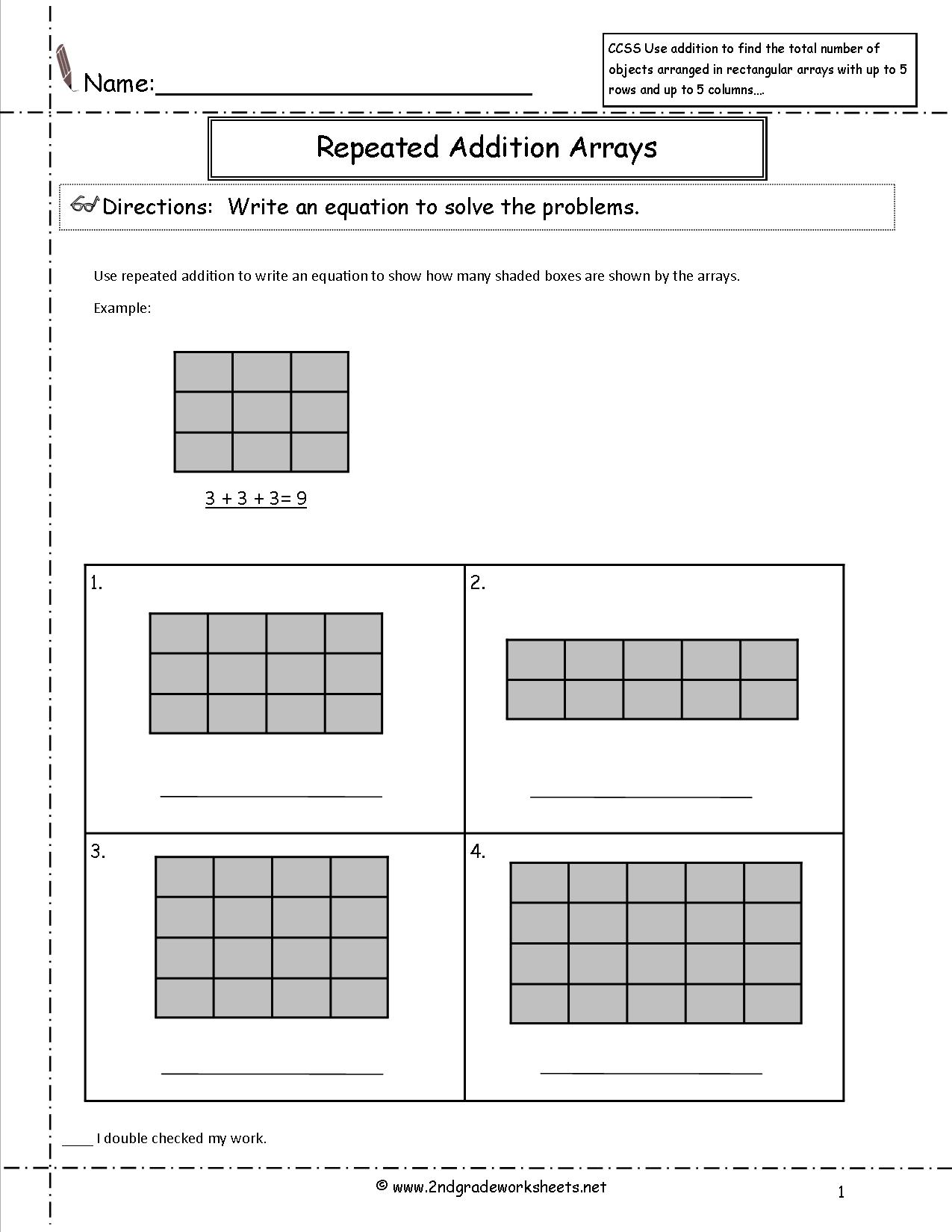 Teach Equal Groups Arrays Number Lines Repeated Addition And