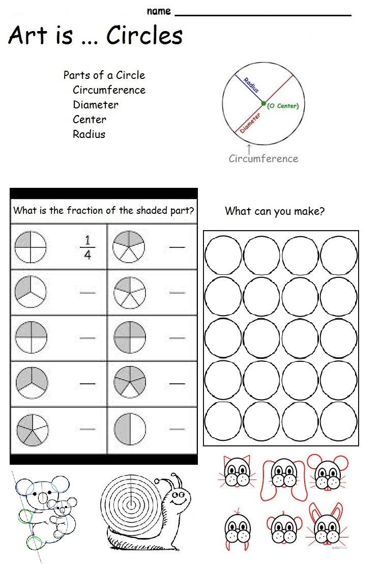 The Smartteacher Resource  Art Is Circles (parts Of A Circle)