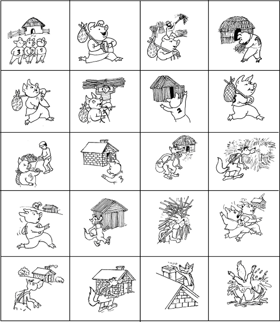 Three Little Pigs Sequencing Worksheet Worksheets For All