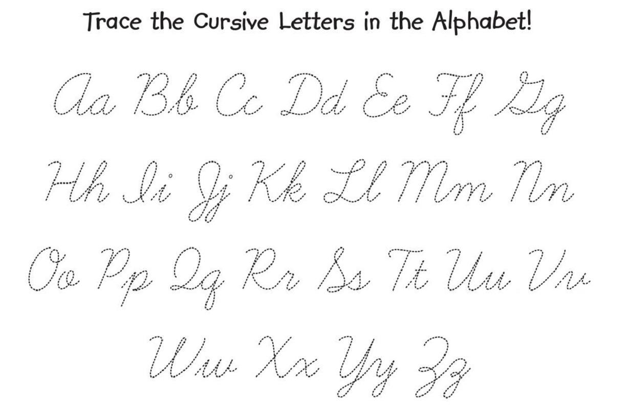 Traceable Alphabets For Children