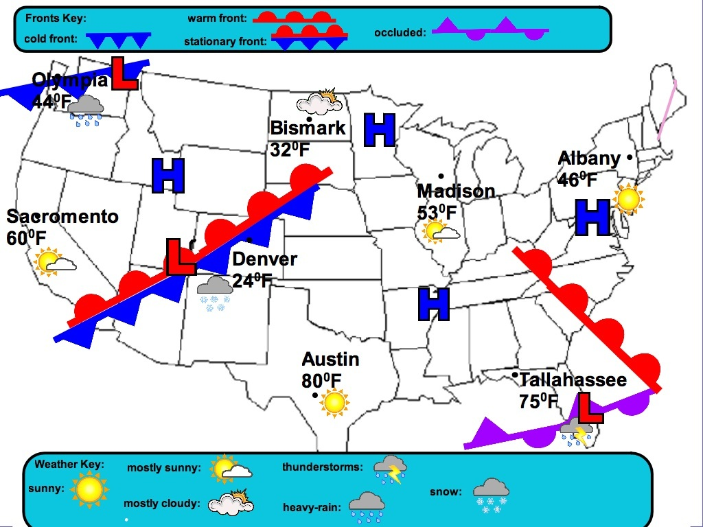 Weather And Pressure Systems