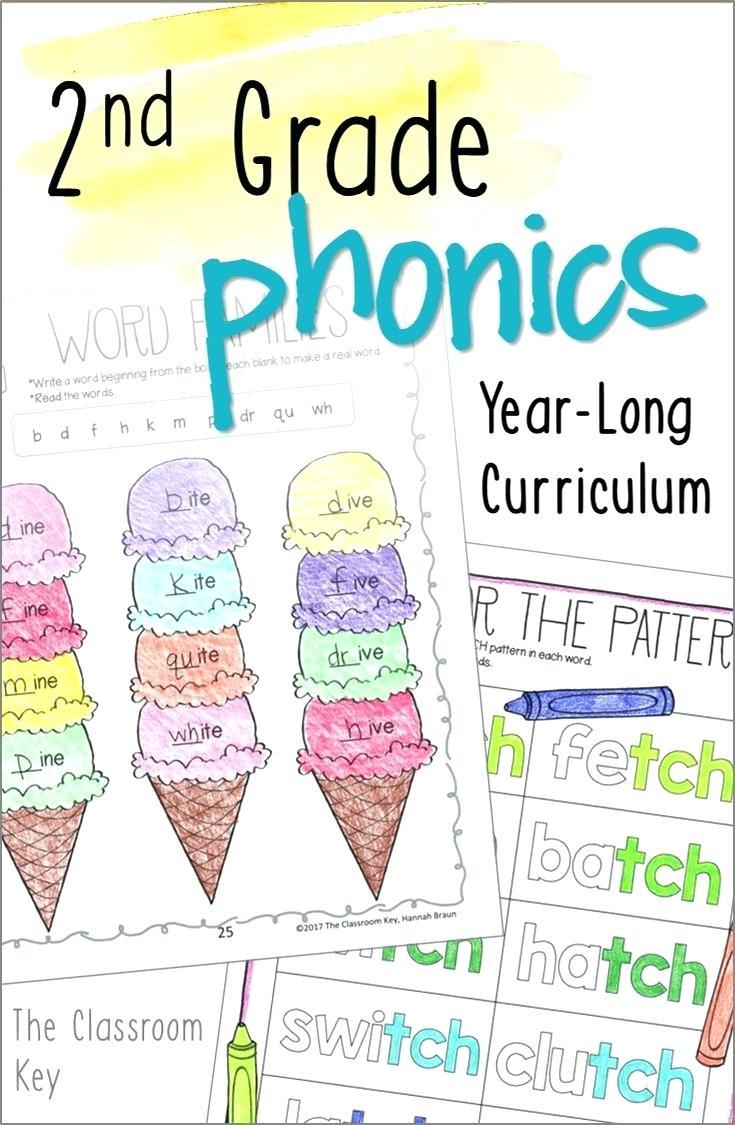 Worksheet  Magnet Worksheets For 2nd Grade Phonics Year Long