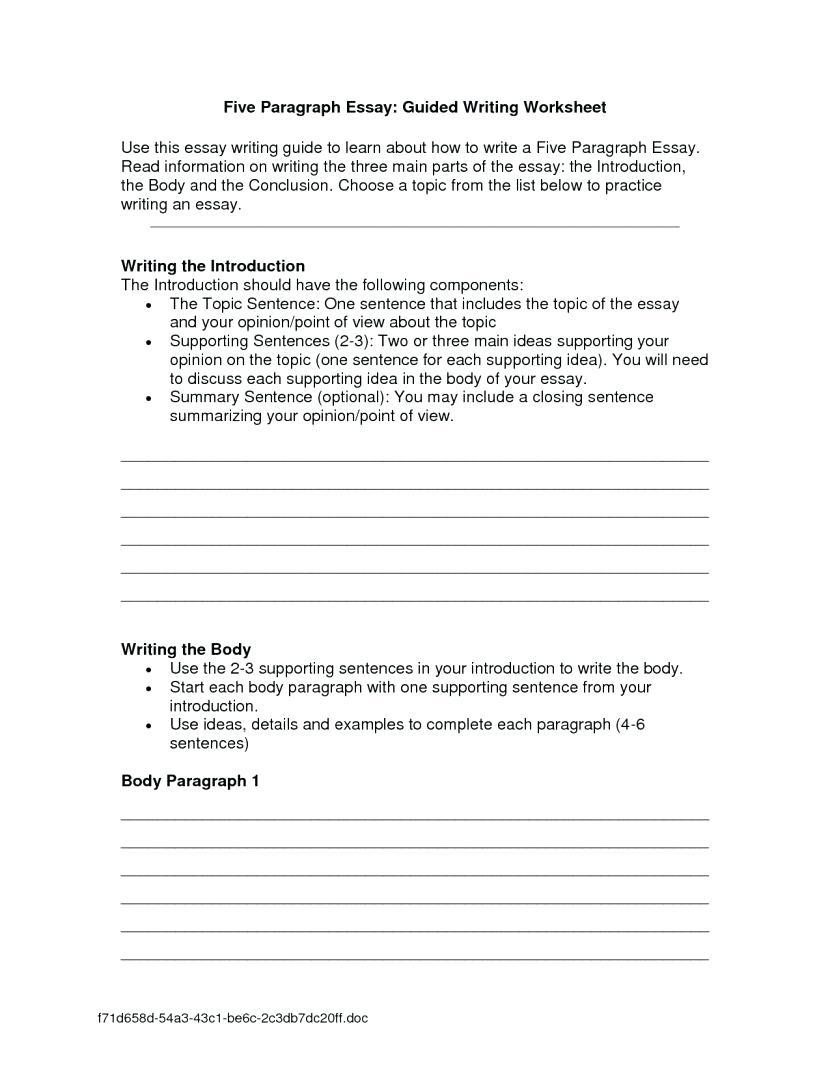 Worksheet  Narrative Worksheets