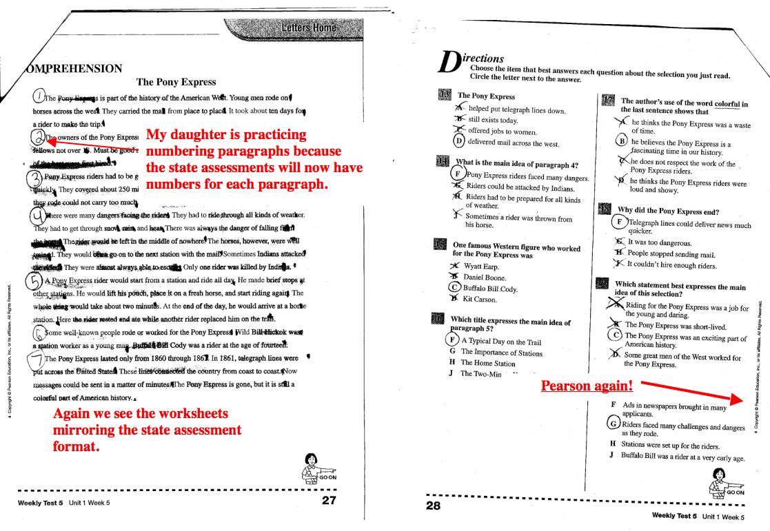 Pearson Education Kindergarten Math Worksheets