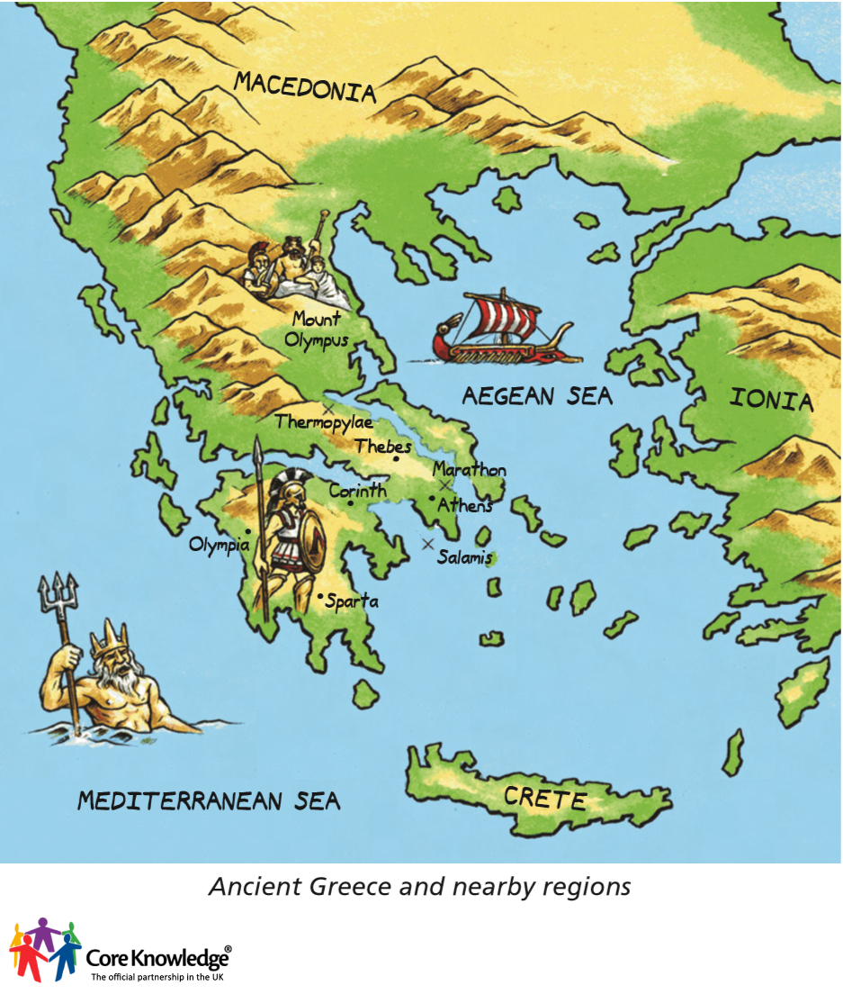Year 3  Ancient Greece (5 Lessons)