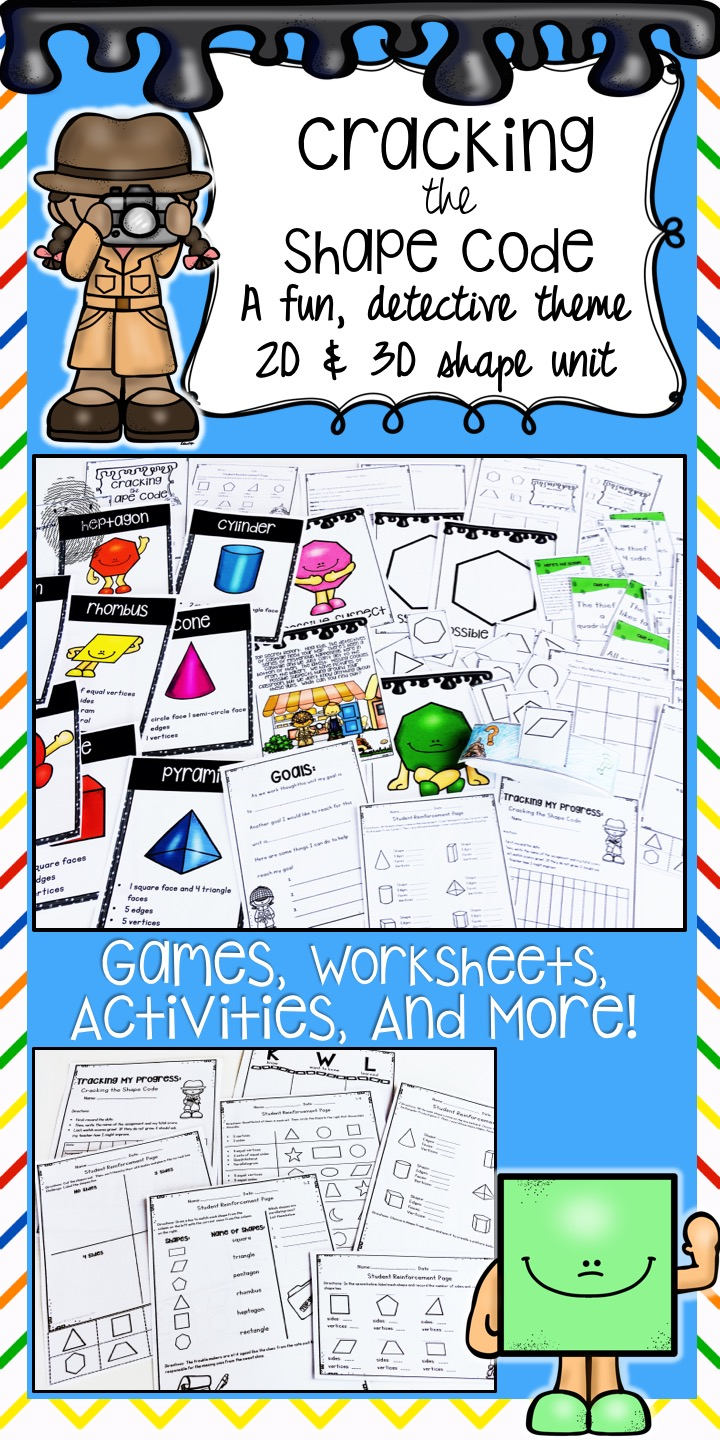 2d And 3d Shapes Worksheets, Activities, Lesson Plans, And More