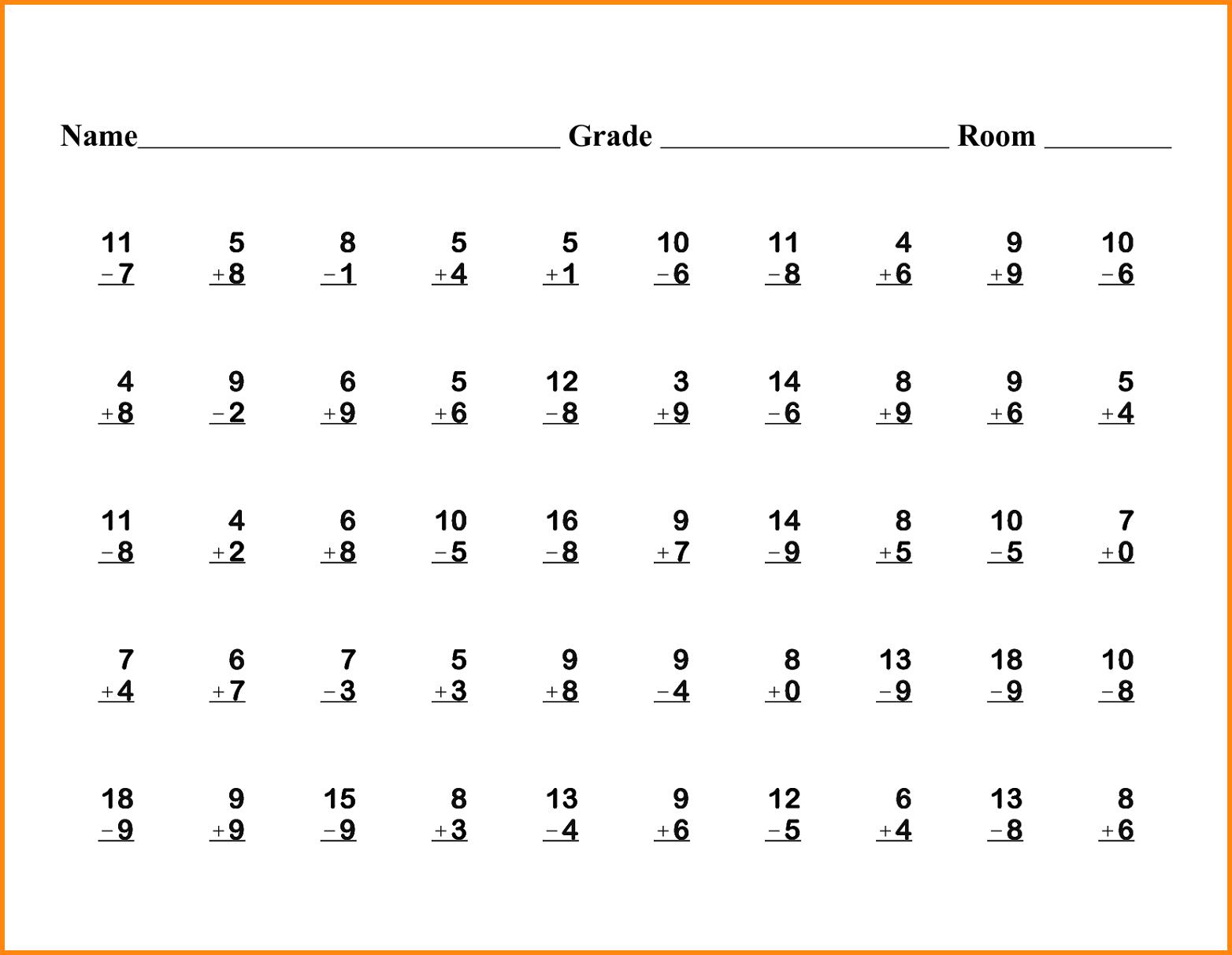 6 1st Grade Math Worksheets Media Resumed Free Loving Printable