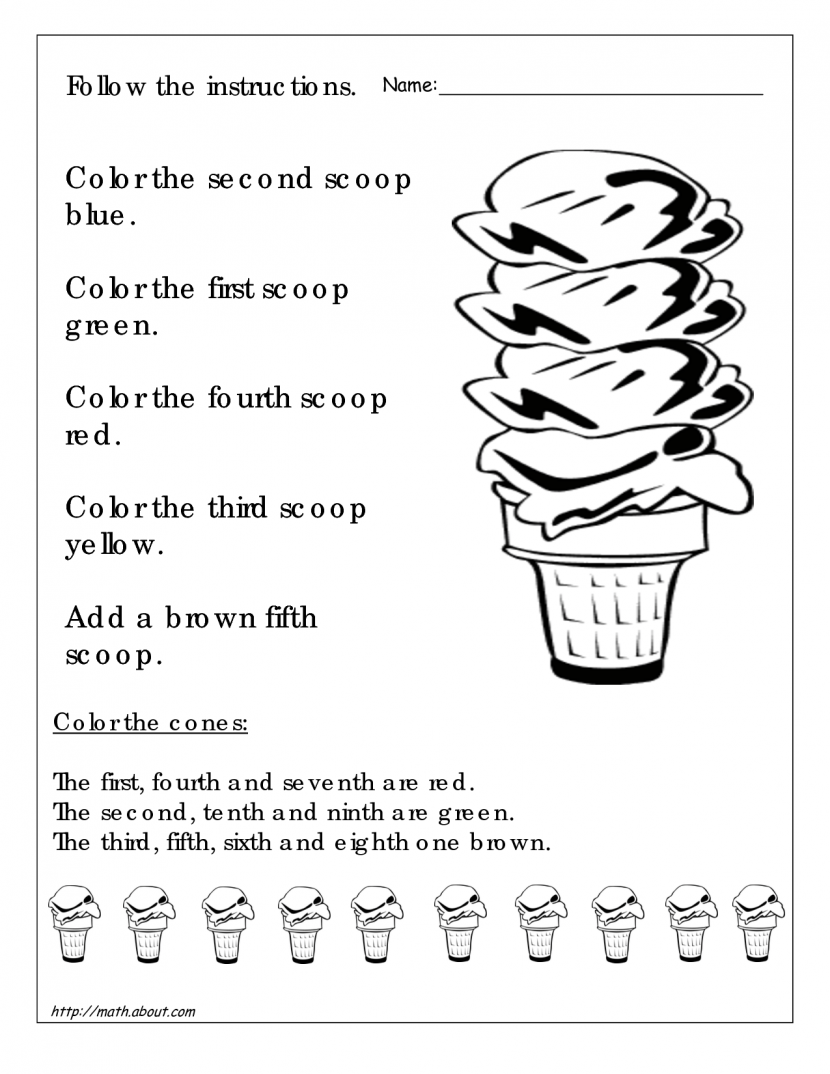 7th Grade Fun Math Worksheets Worksheets For All