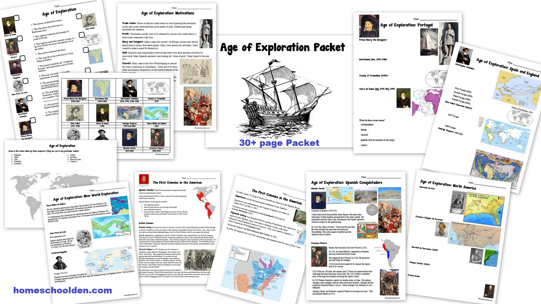 Age Of Exploration Packet