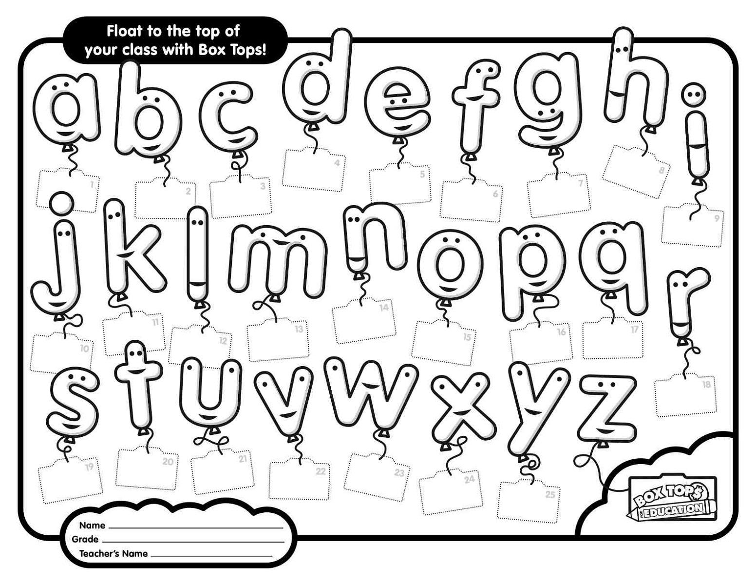 Best Ideas Of Free Abc Worksheets In Worksheet