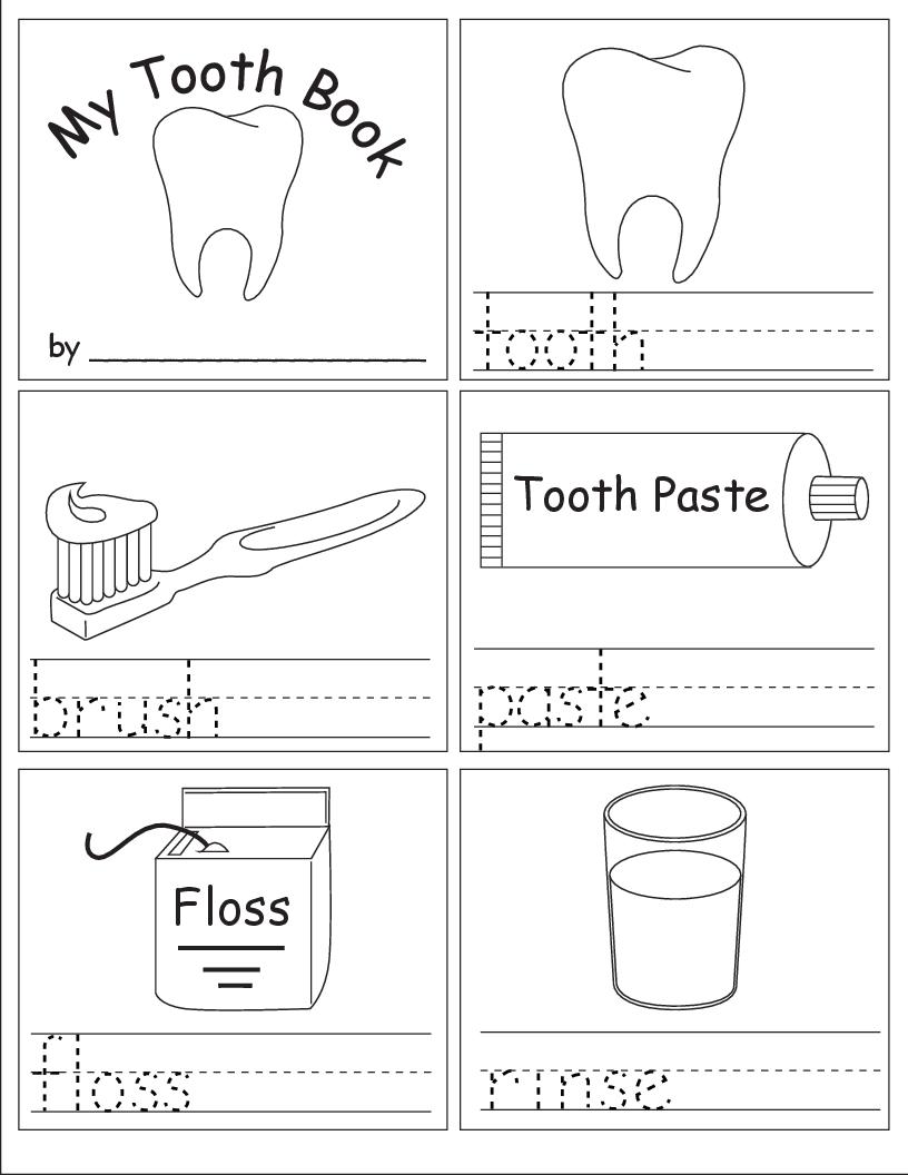 Brush Teeth Worksheet Worksheets For All