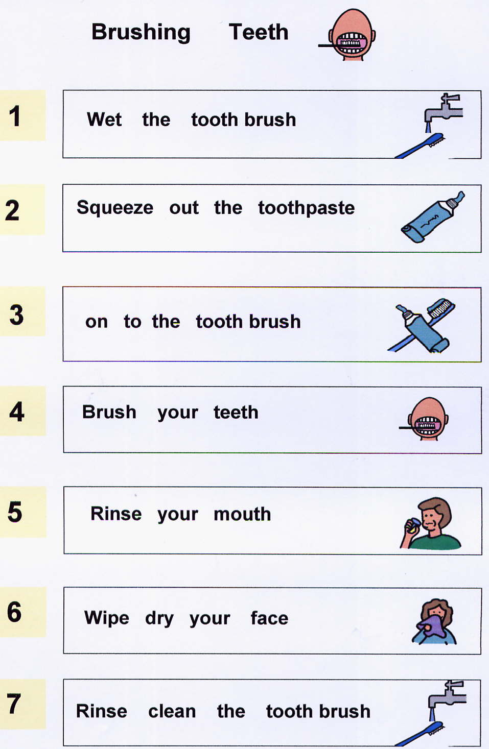 Brush Teeth Worksheet Worksheets For All
