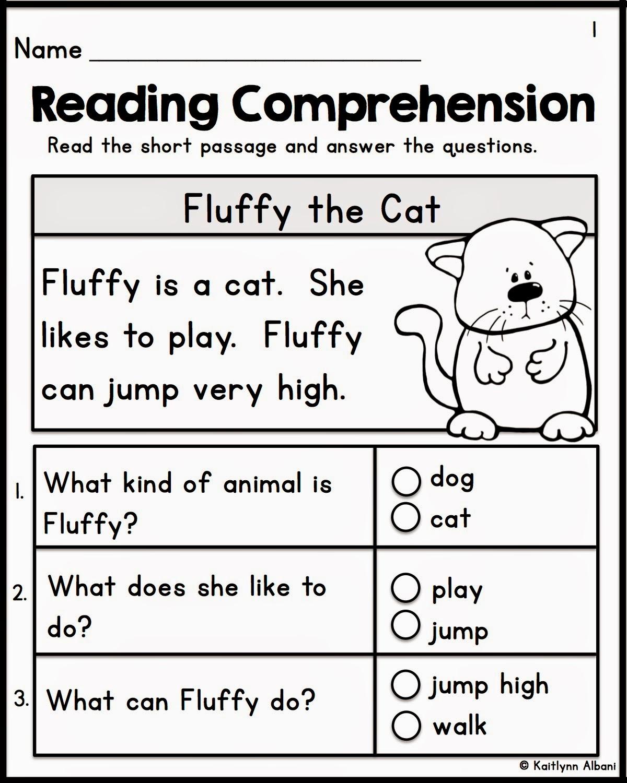 Comprehension Worksheets Grade 2 Worksheets For All