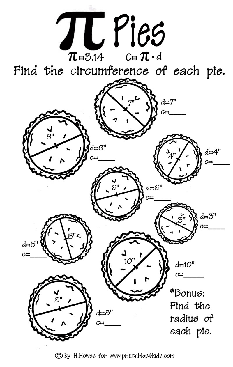 Copy Of Circumference