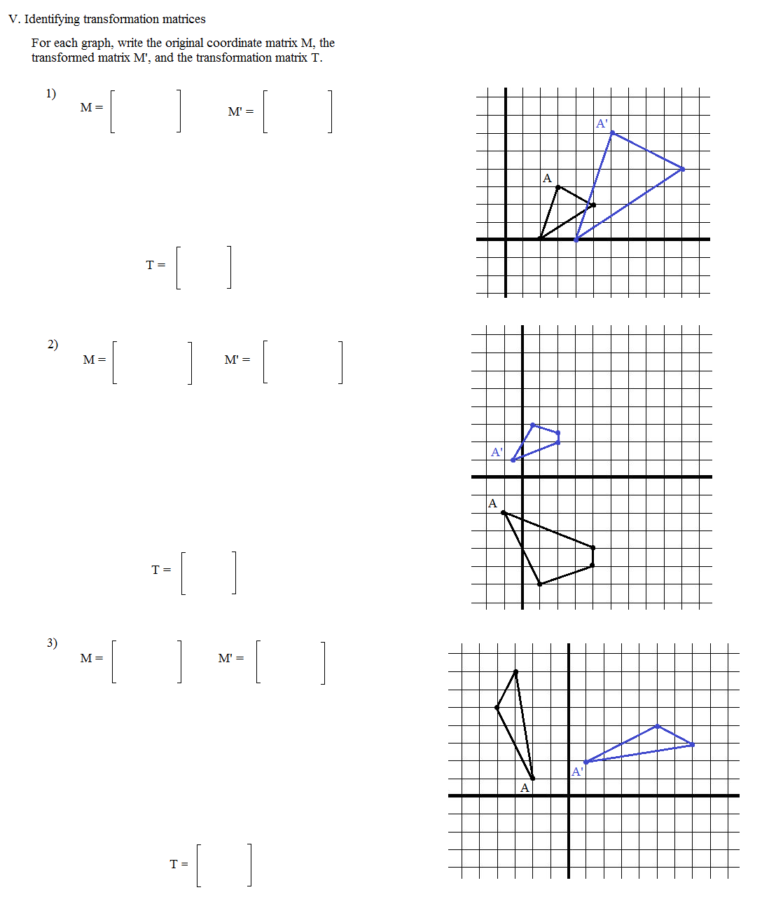 Dilations Worksheet Answers Worksheets For All