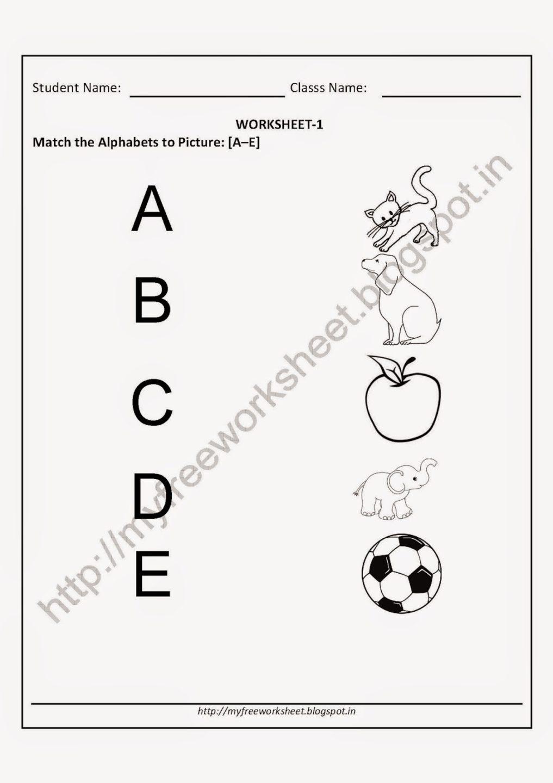 English Worksheets Kids Kindergarten Maths Subtraction For Nursery
