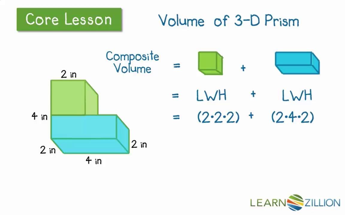 Finding Volume Of Irregular Shapes Worksheets