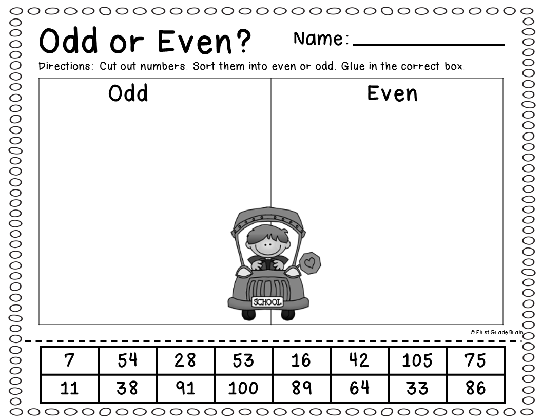 Free Counting Worksheets By 1s 1st Grade Math Count Koogra Yr 1