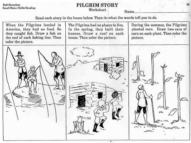 Free Pilgrim Worksheets Worksheets For All