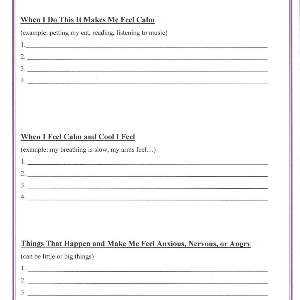Free Printable Character Education Worksheets For Middle School