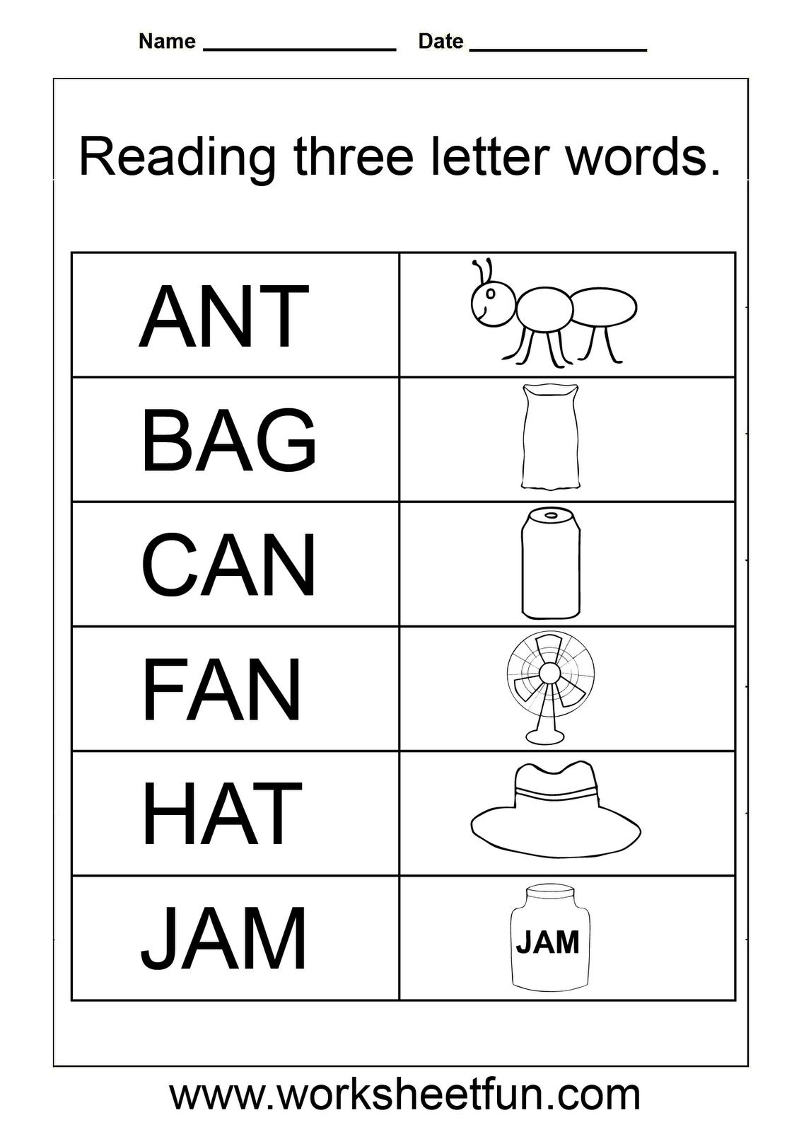 Image Result For Nursery Spelling Worksheets