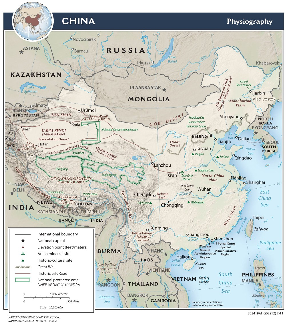 Kids History  Geography Of Ancient China