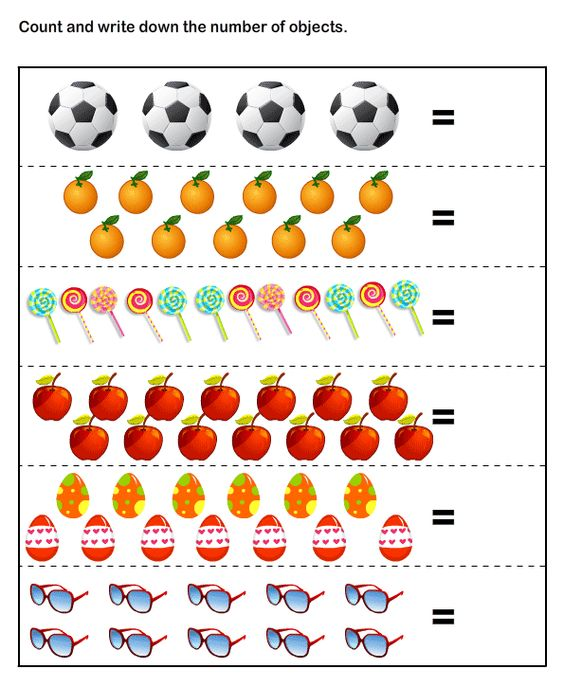 Kindergarten Math Worksheets Counting The Best Worksheets Image
