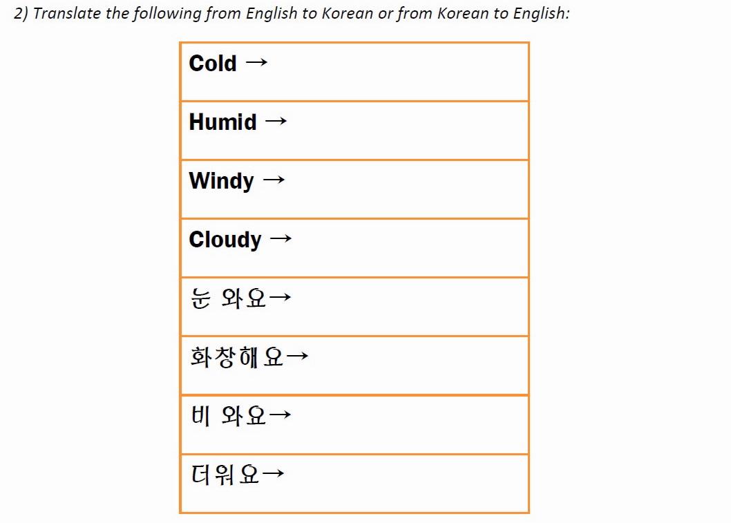 Korean Language Questions – Fresh Korean